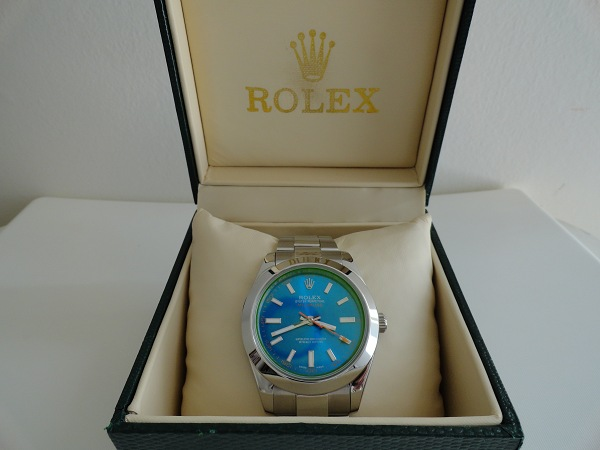 Rolex Milgauss Blue Dial Replica Watch