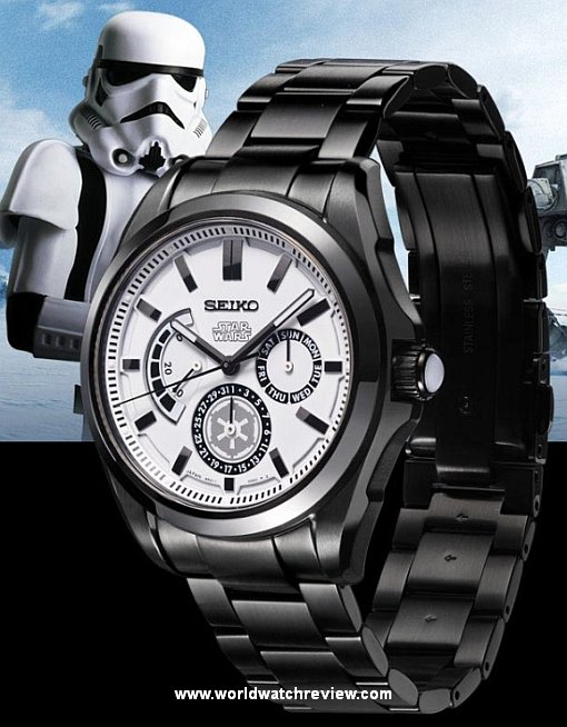 Seiko Ananta Star Wars Stormtrooper Automatic Limited Edition wrist watch (Ref. SDGC011)