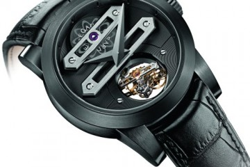The Classic Girard-Perregaux DLC Titanium Bi-Axial Tourbillon Limited Edition Watch Replica