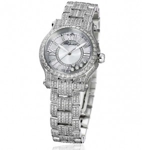 Introducing The Elegant and Impressive Chopard Happy Sport Diamonds Ladies Replica Watch