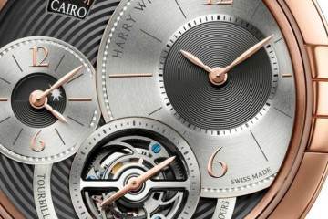 Reviewing the Fake Harry Winston Midnight Tourbillon Global Time GMT Rose Gold Watch MIDATG45RR007