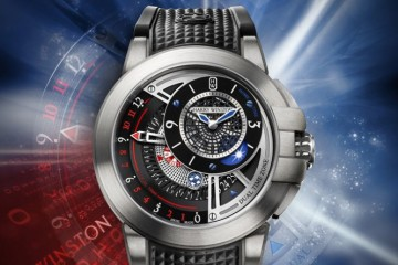 Hands-on The New Lucky Charming Harry Winston Project Z8 Dual Time Limited Edition