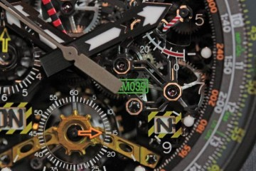 The Flyback Chronograph Richard Mille RM 039 Replica Watch For Sale