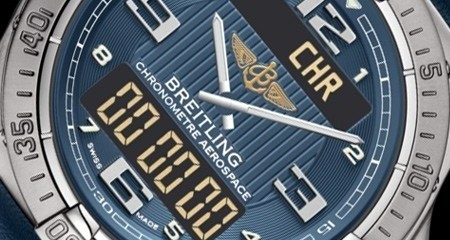 Breitling Professionnal Aerospace Chronograph watch replica