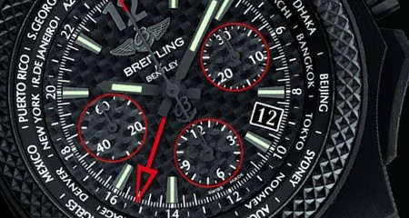 Breitling for Bentley GMT B04 S Carbon Fiber Dial