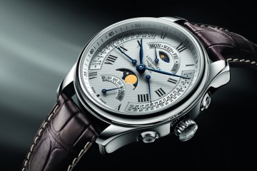 Longines Master Retrograde Moon Phases watch