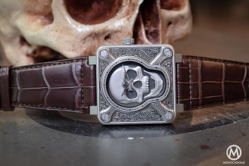Bell & Ross BR01 Burning Skull