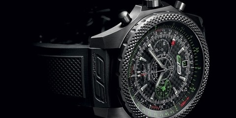 Titanium and Carbon Fiber Breitling for Bentley GT3