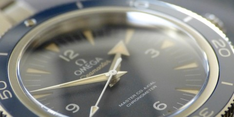 Omega Seamaster 300 Master Co-Axial Titanium watch replica