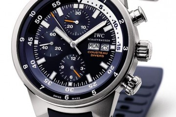 IWC Aquatimer Cousteau Divers Tribute To Calypso