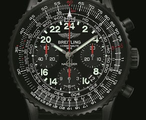 Breitling Navitimer Cosmonaute Blacksteel watch replica