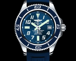 Breitling Superocean 42 Diver Blue Dial replica watch