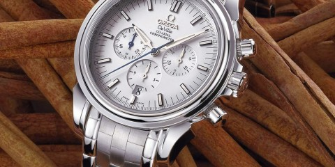 Omega De Ville Co-Axial Chronograph replica watch