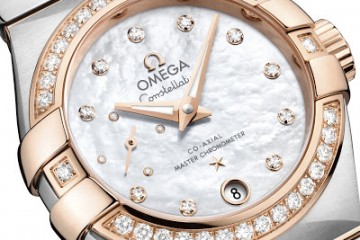 Ladies' Omega Constellation Master Chronometer Small Seconds replica watch
