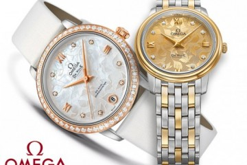Omega De Ville Prestige Butterfly replica watch