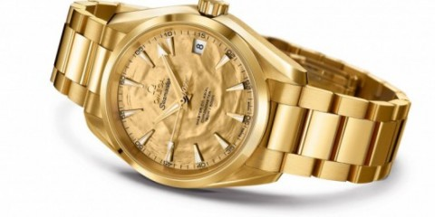 Omega Seamaster Aqua Terra Goldfinger replica watch