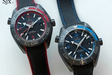 Omega Seamaster Planet Ocean Deep Black GMT replica