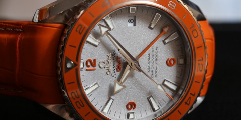 Omega Seamaster Planet Ocean GMT Orange Ceramic replica watch