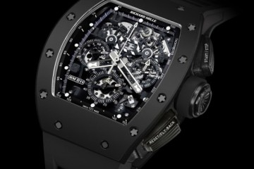 "Richard Mille RM 011 Automatic Flyback Chronograph ""Black Phantom"