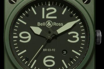 bell & ross instrument br 03-92 military watch replica