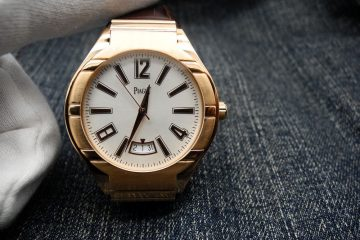 18k Rose Gold Piaget Polo Replica watch