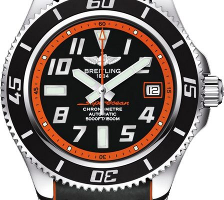 Swiss-made Breitling Superocean 42 of Orange replica