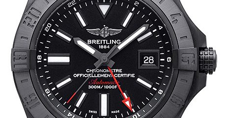 Blacksteel Breitling Avenger II GMT Watch Replica
