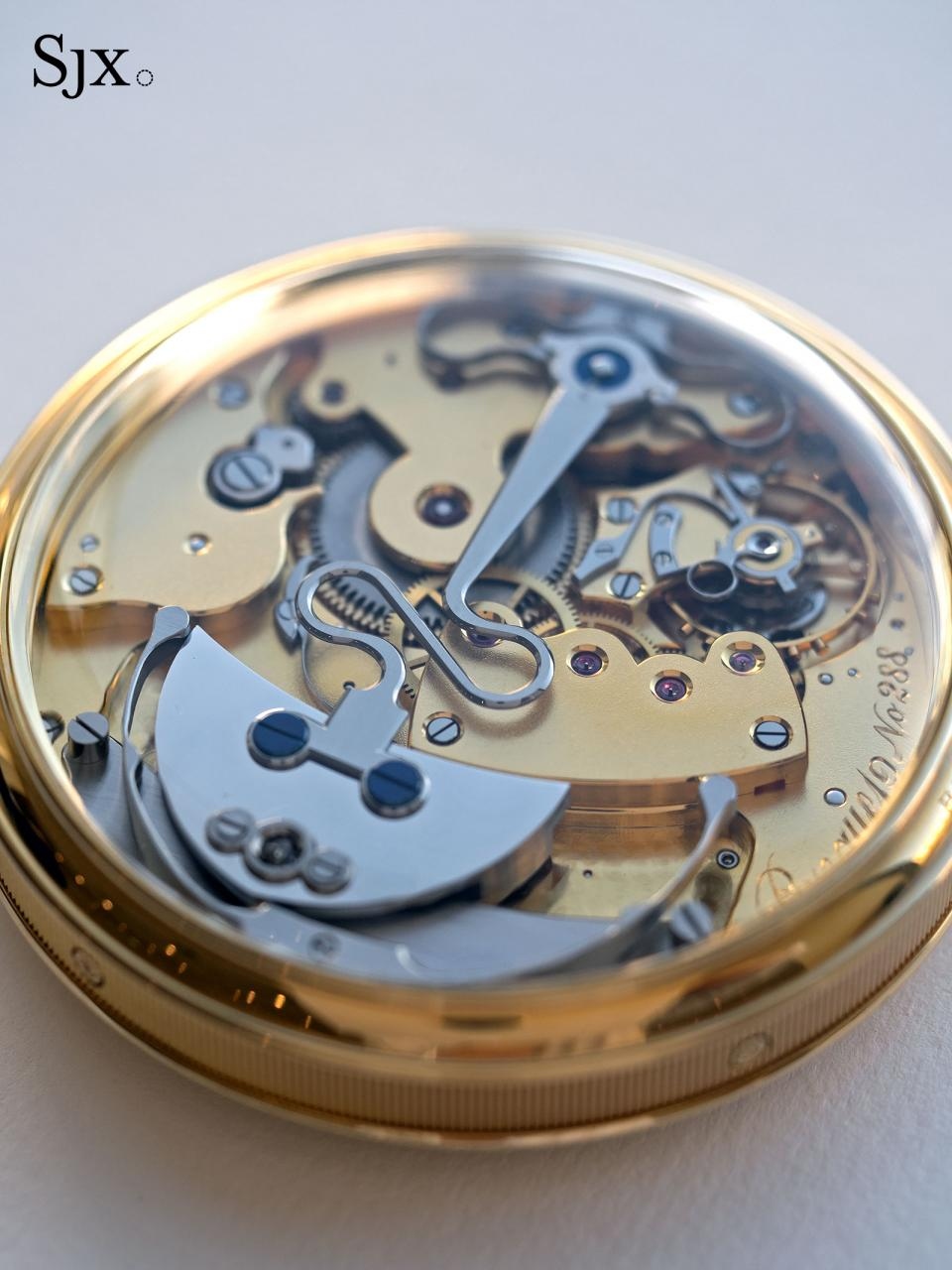 Breguet Souscription set pocket watch 10