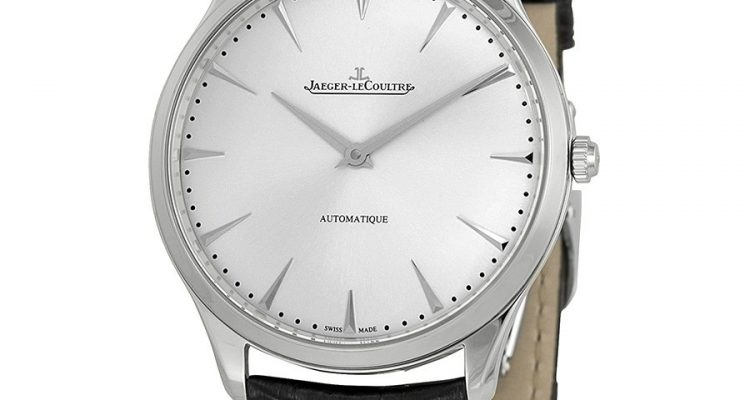 Jaeger LeCoultre Master Ultra Thin Automatic Stainless Steel Men's Watch Q1338421