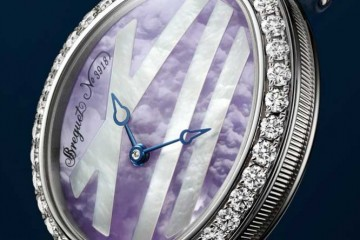 Most Elegant White Gold Breguet Reine de Naples Princesse Mini 9818 Replica Watch