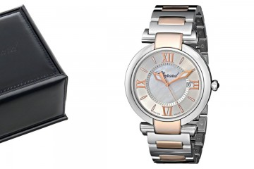 Two Tone Chopard Imperiale watch