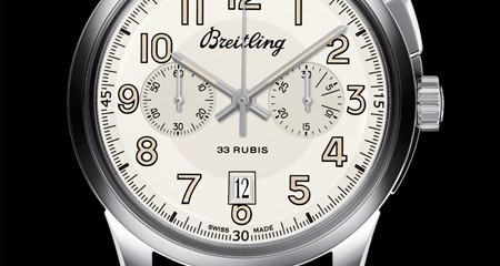 Breitling Transocean Chronograph Watch