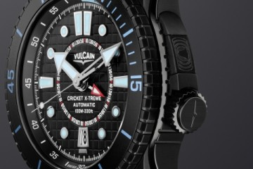 Vulcain Cricket X-Treme Automatic Alarm Diving Watch