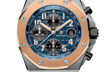 Audemars Piguet Royal Oak Offshore Blue Dial Watch Replica 26471SR.OO.D101CR.01