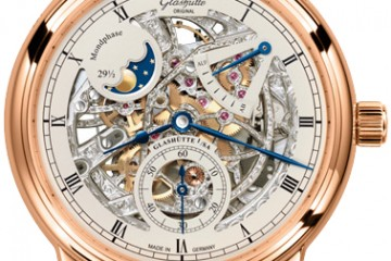 Glashütte Original Senator Moon Phase Skeletonized watch replica