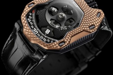 Urwerk UR-105 raging gold watch replica