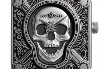 Bell&Ross BR01 Burning Skull