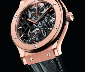Hublot Classic Fusion Skeleton Tourbillon replica watch