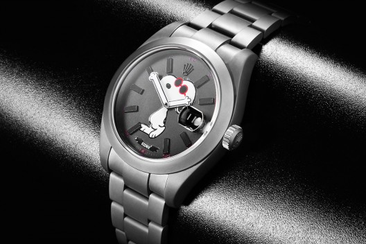 "Rolex Datejust ""Snoopy"" Bamford replica watch"