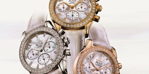 Omega De Ville Beijing Ladies' Chronograph watch replica