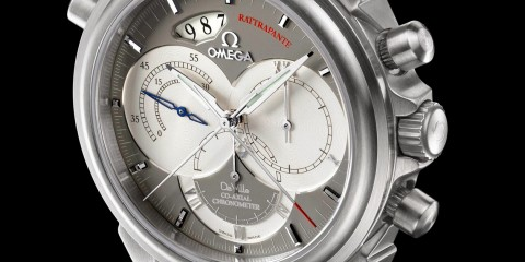 Omega Omega De Ville Co-Axial Rattrapante replica watch