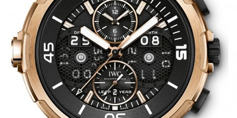 IWC Aquatimer Perpetual Digital Date Month replica