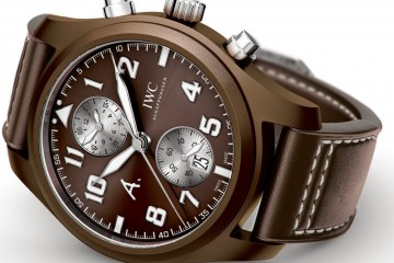 "IWC Pilot' Watch Saint Exupery ""The Last Flight"""