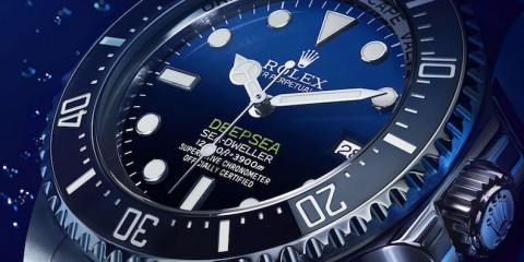 Rolex Deepsea Sea-Dweller D-Blue Dial Ceramic Bezel replica