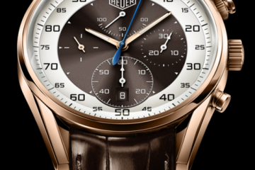 Tag Heuer Carrera Mikrograph 1/100th replica watch