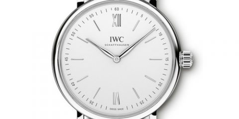 Rose Gold IWC Portofino Hand-Wound Pure Classic watch replica