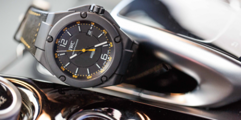 "IWC Ingenieur Automatic Edition ""AMG GT"" watch replica"
