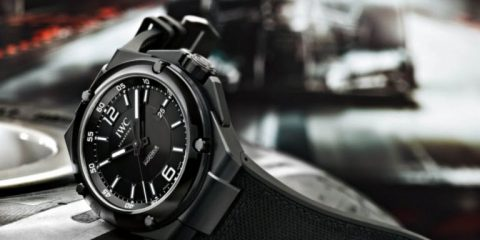 Ceramic IWC Ingenieur Automatic AMG Black Series replica
